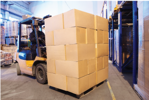 pivoting to e-commerce: man loading shipment