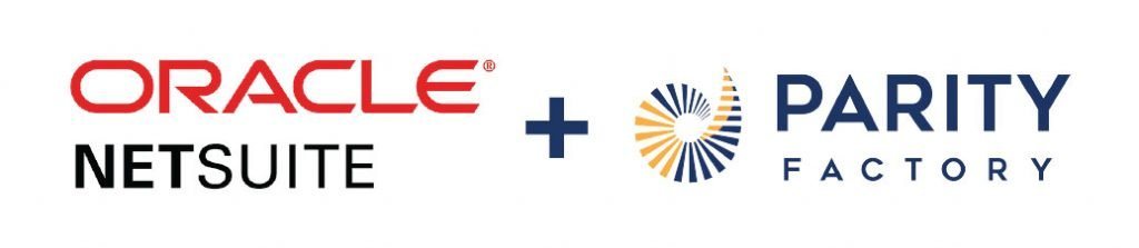 Oracle Netsuite and ParityFactory Logos